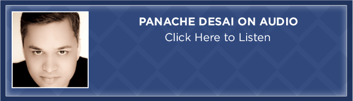 Panache Desai on audio - Click here to listen